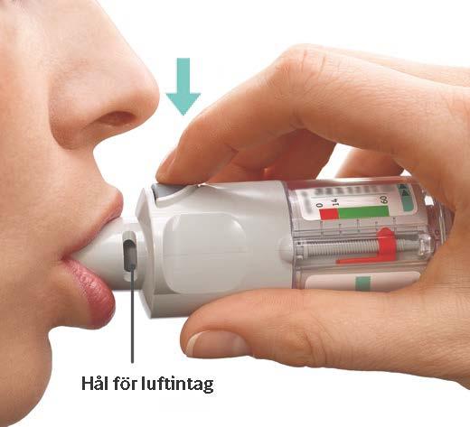 inhalationssteroid virkning