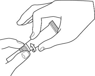 Öppna tuben genom att vrida om den mjuka spetsen