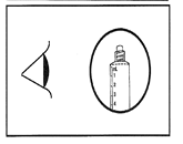 Bilden visar kontroll av sprutändens försegling