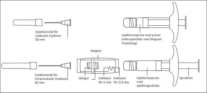 Översikt över komponenterna
