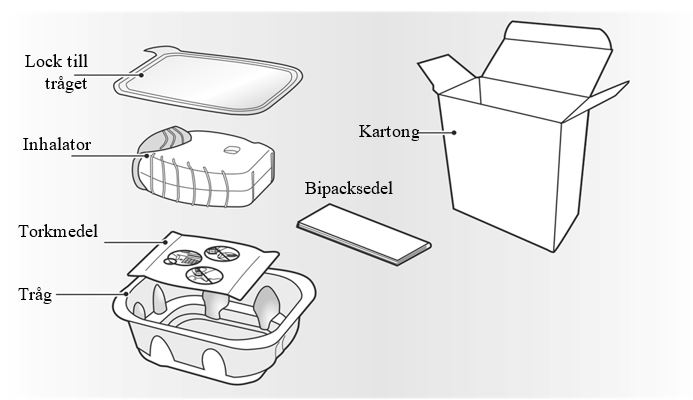 Förpackningsinnehåll