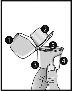 Beskrivning av Zonda-inhalatorn.