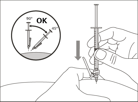 Subktan injektion
