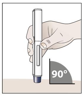 Placering av injektionspennan
