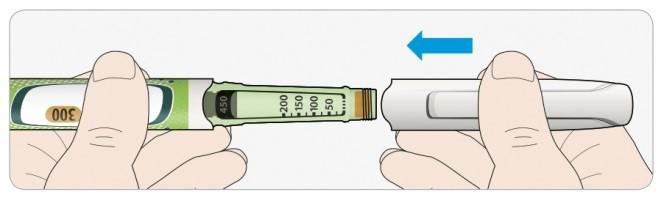 Sätt tillbaka skyddslocket på pennan