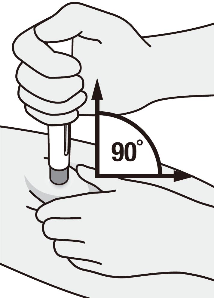 Placera injektionspennan