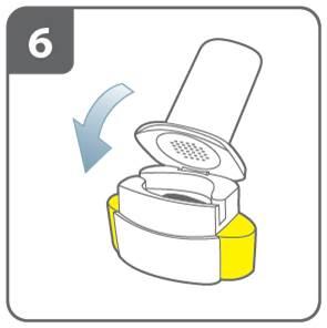 Stäng inhalatorn
