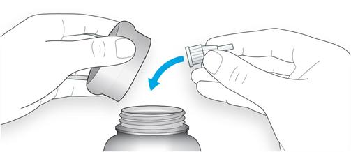 Kassera nål enligt anvisning från apotek
