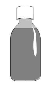 En flaska som innehåller 250 ml av läkemedlet. Flaskan har ett barnsäkert lock. Sätt alltid tillbaka locket efter användandet