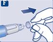 Dra av det inre nålskyddet