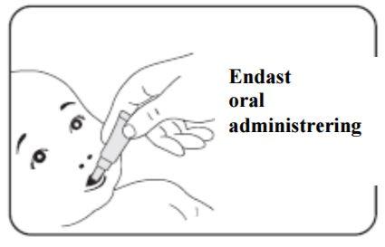Endast oral administrering