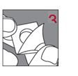 3 – Börja från kanten där förseglingen är uppvikt och dra bort folien på baksidan för att ta ut resoribletten.