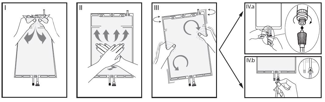 Instruktioner för hantering
