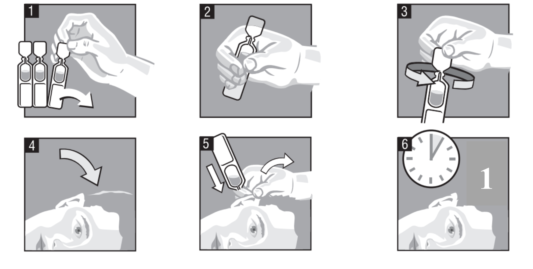Instruktioner för användning av Cetraxal Comp