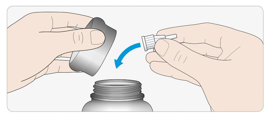 Kassera den använda nålen i en punktionssäker behållare eller enligt gällande rutiner
