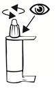 Vid första användning, kontrollera att den förseglade korken är obruten och skruva bestämt av korken för att öppna.