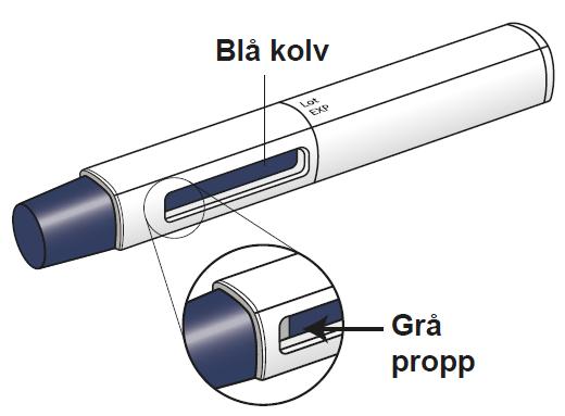 AJOVY förfylld injektionspenna (efter användning)