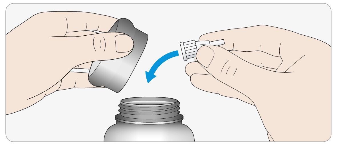 Kassera den använda nålen i en punktionssäker behållare eller enligt gällande rutiner.