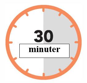 30 minuter