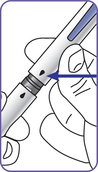Sätta tillbaka locket på pennan.
