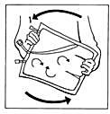 Bilden beskriver böandning av påsens innehåll.