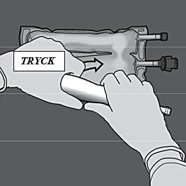 Bild 10: Tryck, och rulla