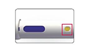 Bilden visar Avonex Pen efter injetion