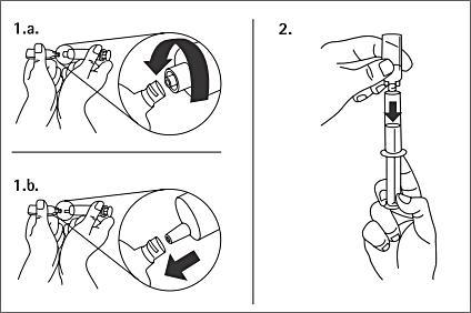 Hanteringsinstruktioner för plastampuller i polyeten