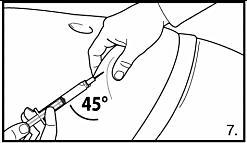 Subkutan injektion