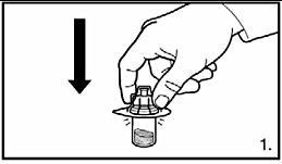 Fastsättning av adapter på injektionsflaska