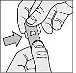 3. Tryck ut tabletten