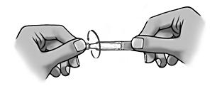 6. Öppna behållaren genom att vrida av fliken.