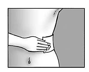 Sätt på upp till tre plåster på det smärtande hudområdet