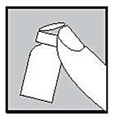 Tag av lock från Fostimon flaskan