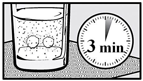 Glas och klocka
