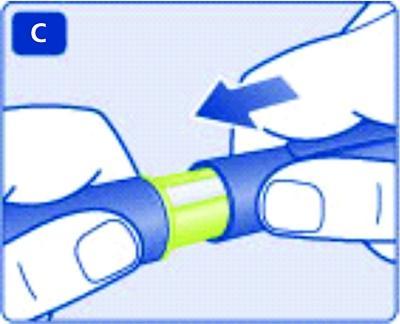 Sätt tillbaka pennhuven på pennan efter varje användning för att skydda insulinet från ljus.