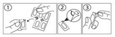 Instruktion barnskyddat blister