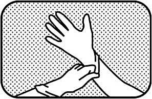 Använd handskar