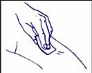 Rengöring av injektionsstället